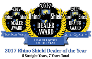 5 time rhino shield dealer of the year