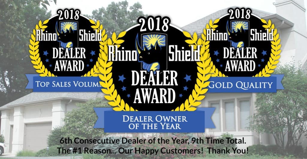 dealer of the year for 6th straight year for Rhino Shield